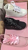 Детские демисезонные ботинки для девочек Размеры 25-30