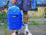 Рюкзак Supreme синий. Живое фото. Топ качество! (Реплика ААА+), фото 2