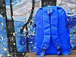 Рюкзак Supreme синий. Живое фото. Топ качество! (Реплика ААА+), фото 3