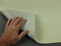 Ткань оригинальная потолочная цвета Белой ночи (Германия), велюр на поролоне с сеткой шир. 1.32м