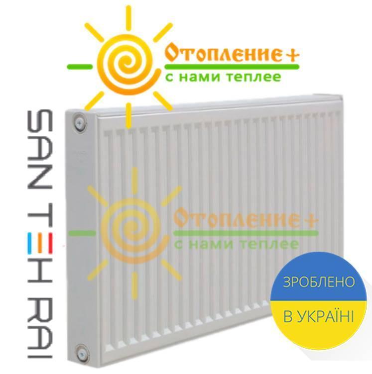 Радиатор стальной Сан Тех Рай 22 тип 500х800 боковое подключение