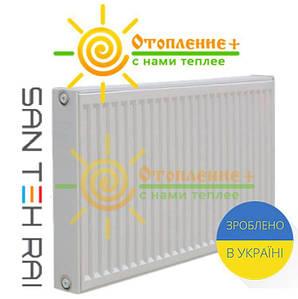 Радиатор стальной Сан Тех Рай 22 тип 500х1000 боковое подключение