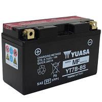 Аккумулятор (АКБ) 6,5Ah 12V AGM YUASA YT7B-BS Р