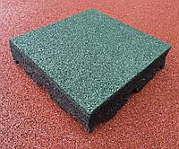 Резиновое покрытие для детских площадок 500х500х25