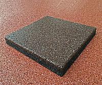 Резиновое покрытие для пола 500х500х40