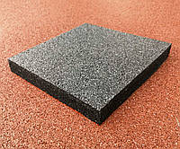 Резиновая плитка 500х500х35