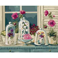 Картина по номерам Цветочное разнообразие 40 х 50 см Идейка арт. КН2927