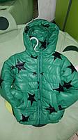 Детские модные демисезонные курточки М