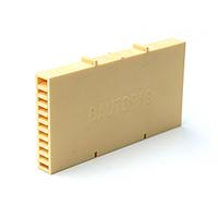 Вентиляционно-осушающая коробочка BAUT желтая 115*60*10 мм