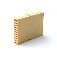 Вентиляционно-осушающая коробочка BAUT желтая 80*60*10 мм