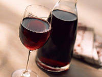 Домашнее вино  красное полу-сухое на розлив