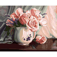 Картина по номерам Романтичность роз 40 х 50 см Идейка арт. КН2042