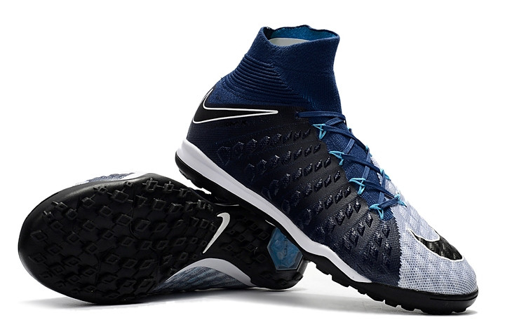 74c5e920 Футбольные сороконожки Nike HypervenomX Proximo II DF TF Brave  Blue/Black/Photo Blue -