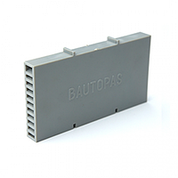 Вентиляционно-осушающая коробочка BAUT светло-серая 115*60*10 мм