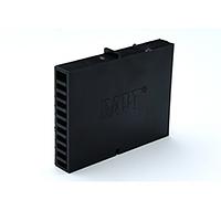 Вентиляционно-осушающая коробочка BAUT черная 80*60*10 мм