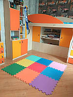 Коврик-пазл для детей и игровых центров, размер 30*30 см толщ 10 мм