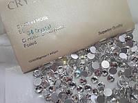 Стразы клеевые Lux ss34 Crystal (7.2mm) 288шт