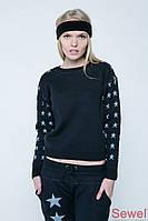 Модный женский осенний свитер
