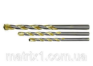 Сверло по бетону Golden Line, 4 х 75 мм цилиндрический хвостовик// MTX
