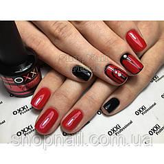 Гель-лак OXXI Professional №6 (темный красный с микроблеском), 8 мл, фото 2