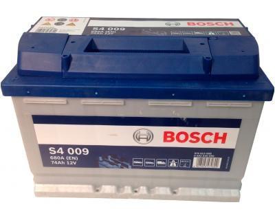 Автомобильный Аккумулятор BOSCH 74 A (Бош) 74 Ампер  BO 0092S40090