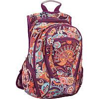 Рюкзак Kite K16-856M-2 Style-2 разноцветный два отдела подростковый для девочек 42х36х20см