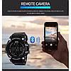 Спортивные часы с Bluetooth Skmei 1227 blue, фото 7
