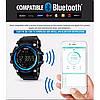 Спортивные часы с Bluetooth Skmei 1227 blue, фото 10