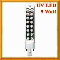 Новое Поступление: Лампа UV LED 9 Watt Запасная к Лампа УФ 36 Ватт для Сушки Ногтей. Код 1569
