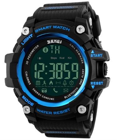 Спортивные часы с Bluetooth Skmei 1227 blue