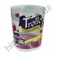 Бумажные полотенца двухслойные Trollo Mega