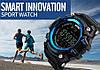 Спортивные часы с Bluetooth Skmei 1227 blue, фото 3