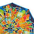 Привлекательный женский зонт-автомат AIRTON Z3955-2001, цвет разноцветный. Антиветер!, фото 2