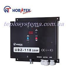 Блок управления и защиты однофазных электродвигателей  УБЗ - 118 (до 2,6 кВт) Новатек-Электро