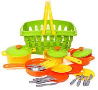 Набор игрушечной посуды Технок 4456