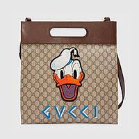 Мужская сумка Gucci Supreme Donald Duck Tote