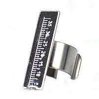 Эндолинейка кольцо, серебристый, фото 1