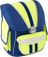 Удобный суперкаркасний ранец для школьниковBirds, модель 72016л. Cool for school CF85440, синий с желтым