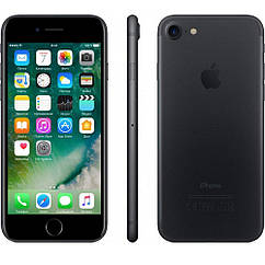 Смартфон Apple iPhone 7 Black 2/128gb Neverlock Оригинал  Гарантия 6 мес+стекло и чехол!