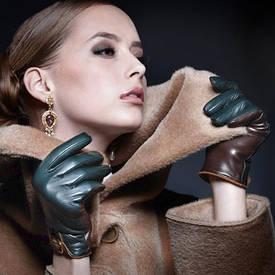 Оптом женские кожаные и замшевые перчатки