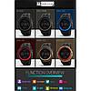 Спортивні водонепроникні годинники Skmei 1251 Black, фото 5