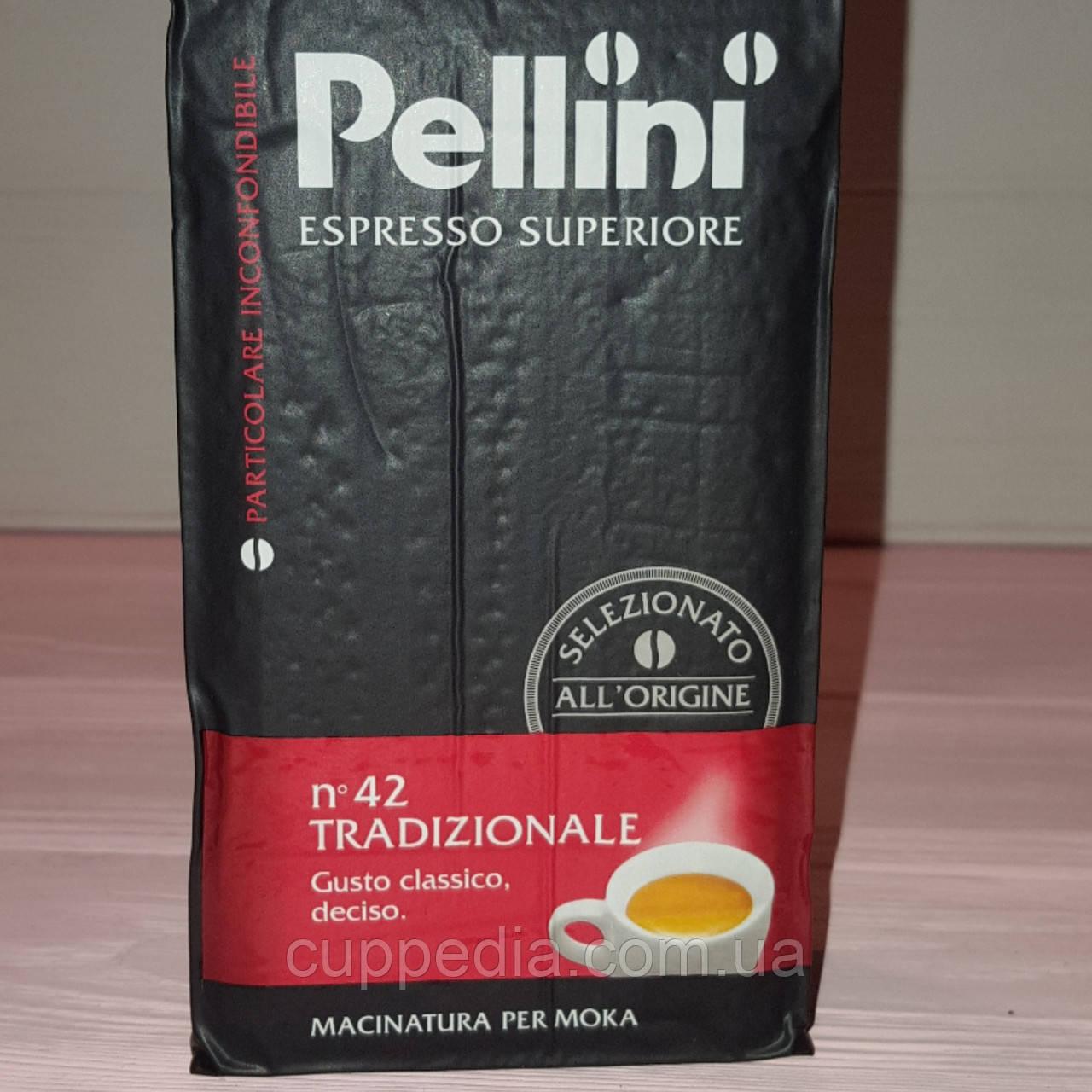Молотый кофе  Pellini Espresso superiore 250 гр - Cuppedia в Одессе