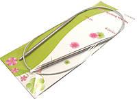 Спицы для вязания на тросике. Размер №4 В упаковке 6 шт