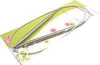Спицы для вязания на тросике. Размер №6 В упаковке 10шт