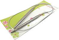 Спицы для вязания на тросике. Размер №7В упаковке 10шт