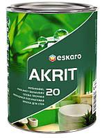 Eskaro Akrit 20 Особо прочная моющаяся полуматовая краска для стен