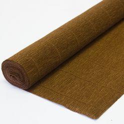 Креп бумага 568 коричневая Cartotecnica rossi, Италия