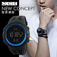 Спортивные водонепроницаемые часы Skmei 1251 blue