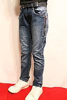 Осенние джинсы для подростков на манжете. Возростная группа от 9 до 14 лет (134-158см.). Niebieski. Польша.