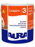 Акрилатная краска AURA Lux Pro 3 Акрилатная краска для высококачественной отделки потолков и стен